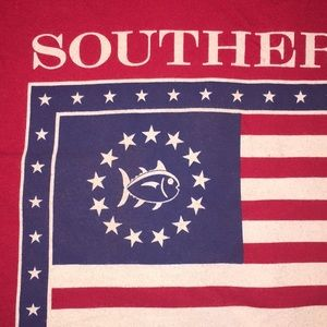 SOUTHERN TIDE red Tee for the Patriot!
